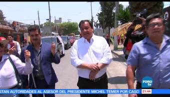 noticias, forotv, Óscar González, visita, Ecatepec, pt
