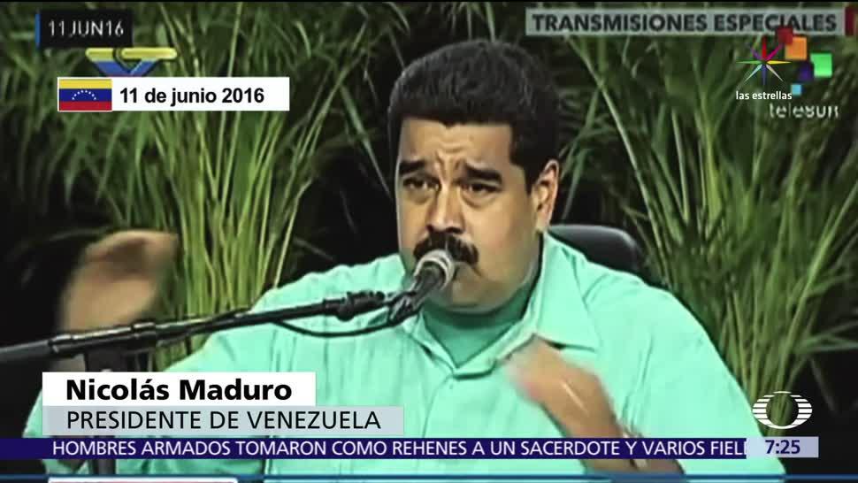 manifestaciones, gobierno, Nicolás Maduro, Venezuela