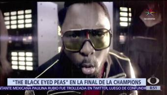The Black Eyed Peas, final de la Liga de Campeones, Real Madrid, Juventus