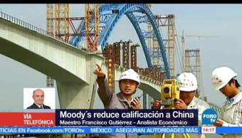 noticias, forotv, Moodys, reduce calificacion, crediticia, China