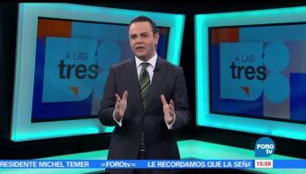 noticias, forotv, A las Tres, Programa, completo, 24 de mayo de 2017