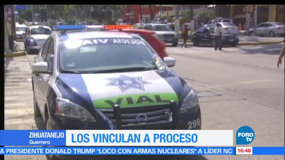 noticias, FOROtv, Vinculan, proceso, 20 policías, Zihuatanejo