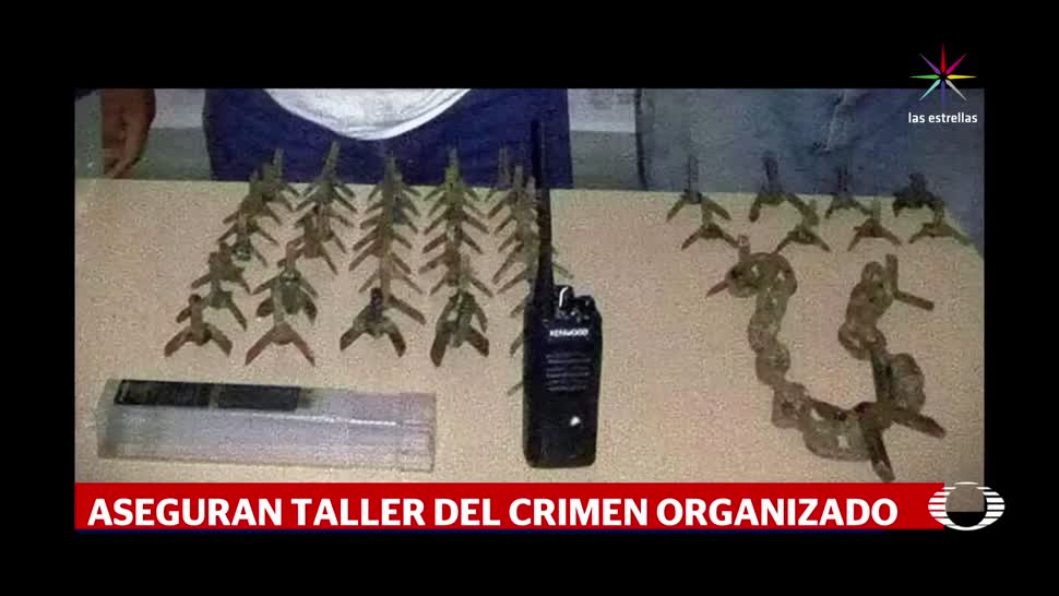 Clausuran, taller, automotriz. crimen organizado, reynosa, tamaulipas