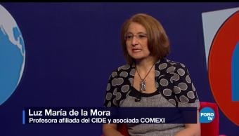 Genaro, Lozano, entrevista, Luz María de la Mora, TLC, Ciomercio con EU