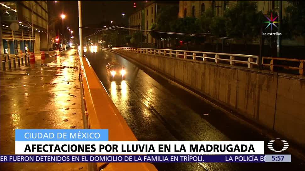 lluvia, provoca encharcamientos, vialidades, delegaciones Tlalpan, Xochimilco