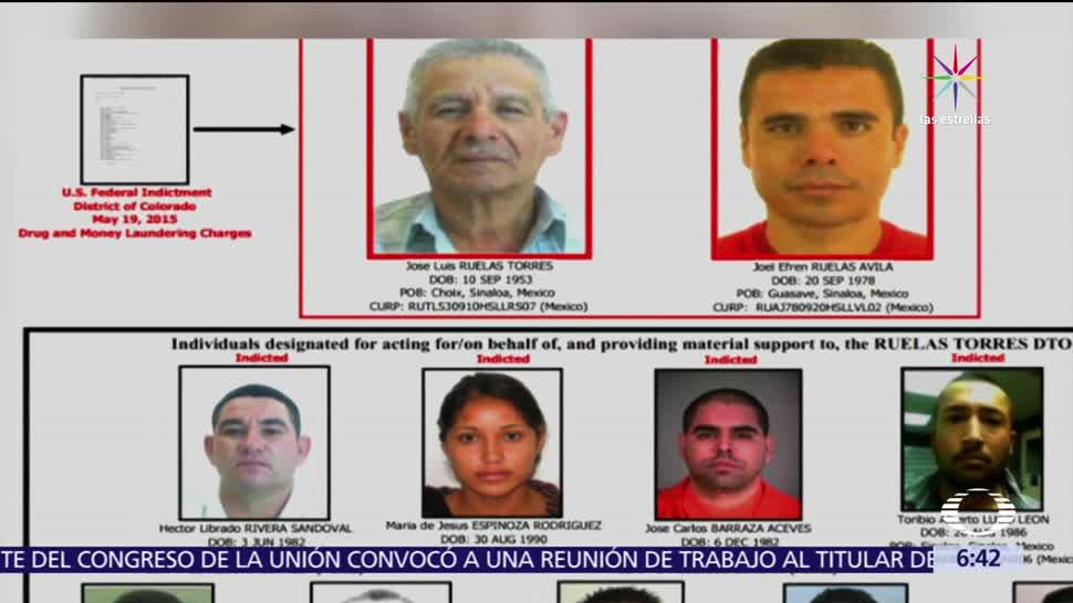 José Luis Ruelas Torres, integrantes, organización, opio en México