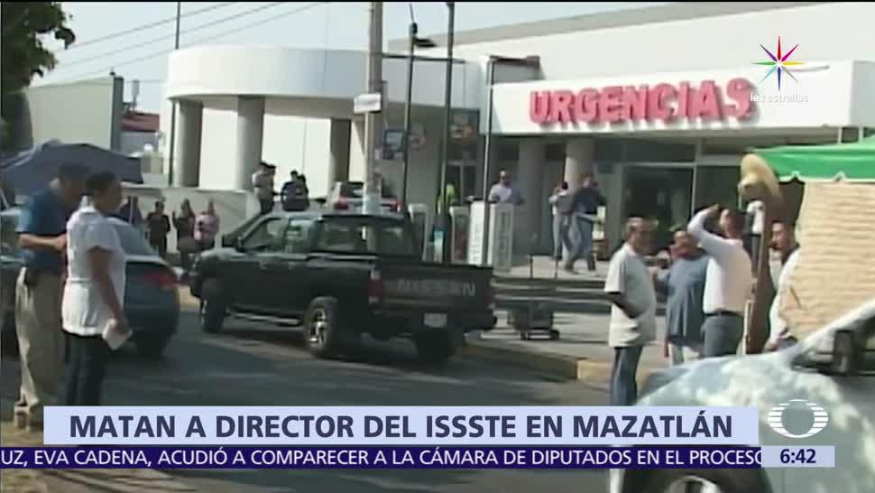 Miguel Ángel Camacho Zamudio, ISSSTE en Mazatlán, Sinaloa, hospital