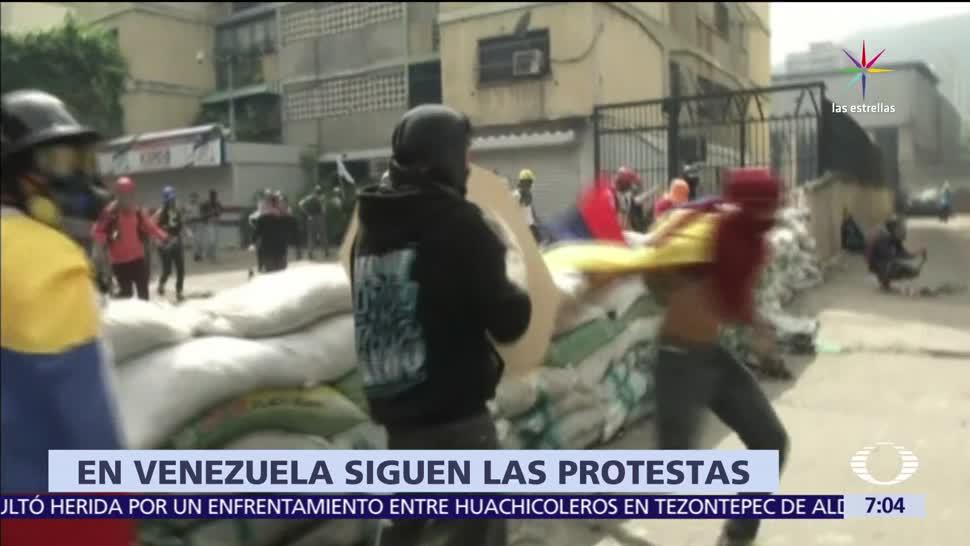 marchan en Venezuela, elecciones libres. Asamblea Constituyente, Opositores
