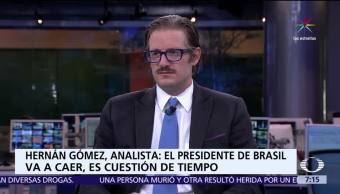 internacionalista Hernán Gómez, Despierta con Loret, crisis económica, división política, Venezuela