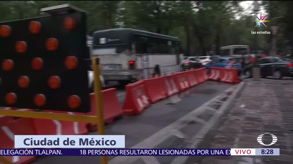 Gobierno de la CDMX, obras, línea 7, Metrobús en Reforma