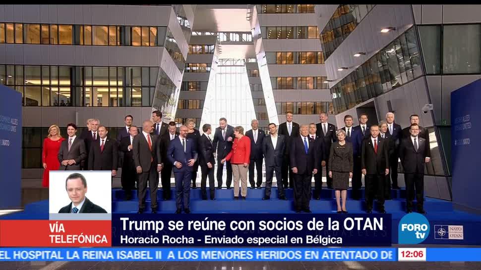 noticias, forotv, Cumbre, OTAN, ojos del mundo, Cumbre de la OTAN