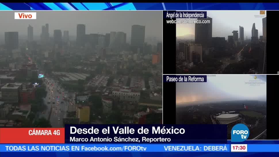 noticias, forotv, Llueve, fuerte, Ciudad de México, clima