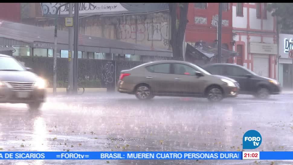 Lluvias, intensas, Ciudad, México, cdmx, clima