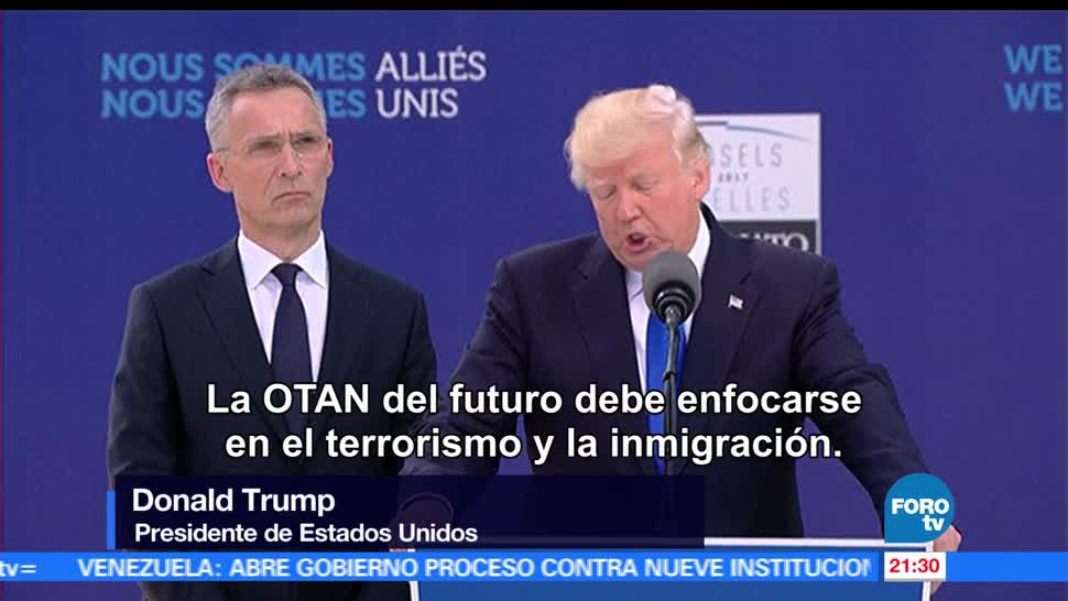 Cumbre, OTAN, Bruselas, Bélgica, Donald Trump, Estados Unidos