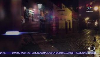 Asesinan, cuatro, taxistas, Guanajuato