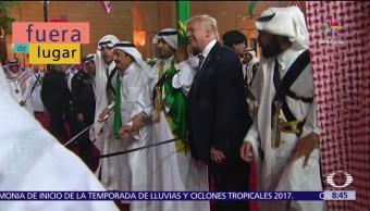 Fuera de Lugar, Melania, Trump, gira de Donald Trump