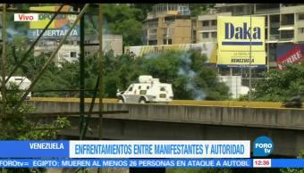 Nuevos, enfrentamientos, protestas, Venezuela