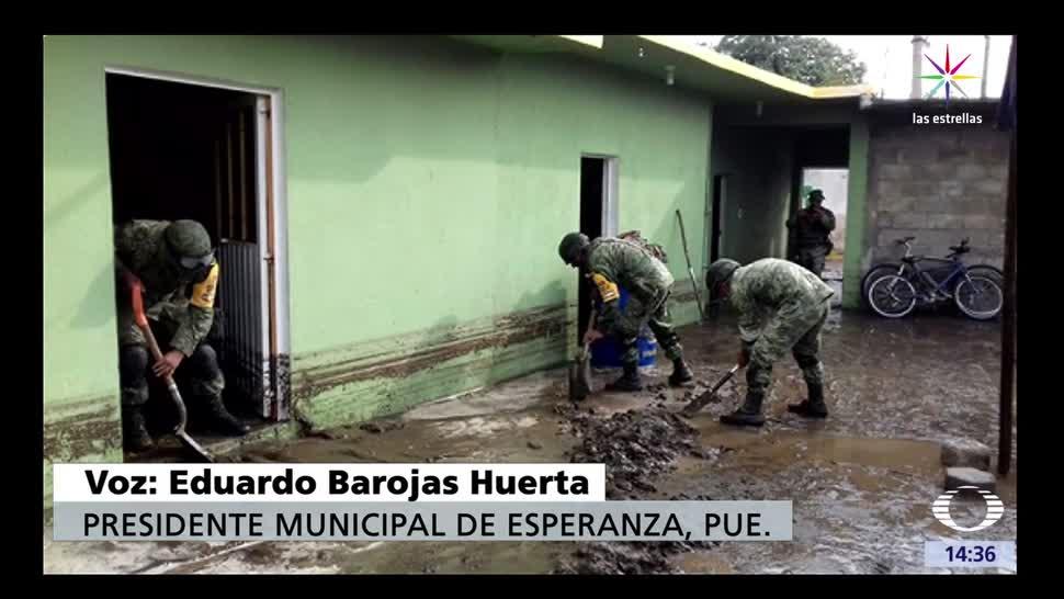noticias, Televisa, Damnificados,lluvias, Puebla, tromba