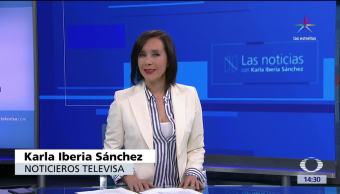 noticias, televisa, Las noticias, con Karla Iberia, Programa, 26 de mayo 2017