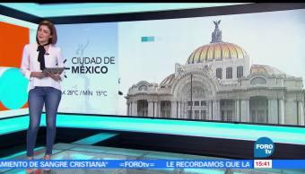 noticias, forotv, El Clima, Daniela Álvarez, Clima, Calor