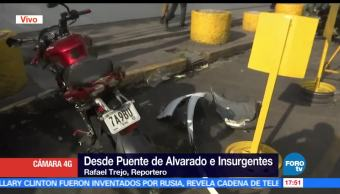 noticias, forotv, Automovilista, atropella, motociclista, se da a la fuga