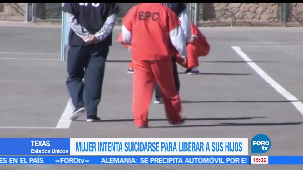 noticias, forotv, Migrante, intenta suicidarse, liberar, hijos