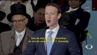 interesante, discurso. Harvard, Mark Zuckerberg, Facebook, Universidad