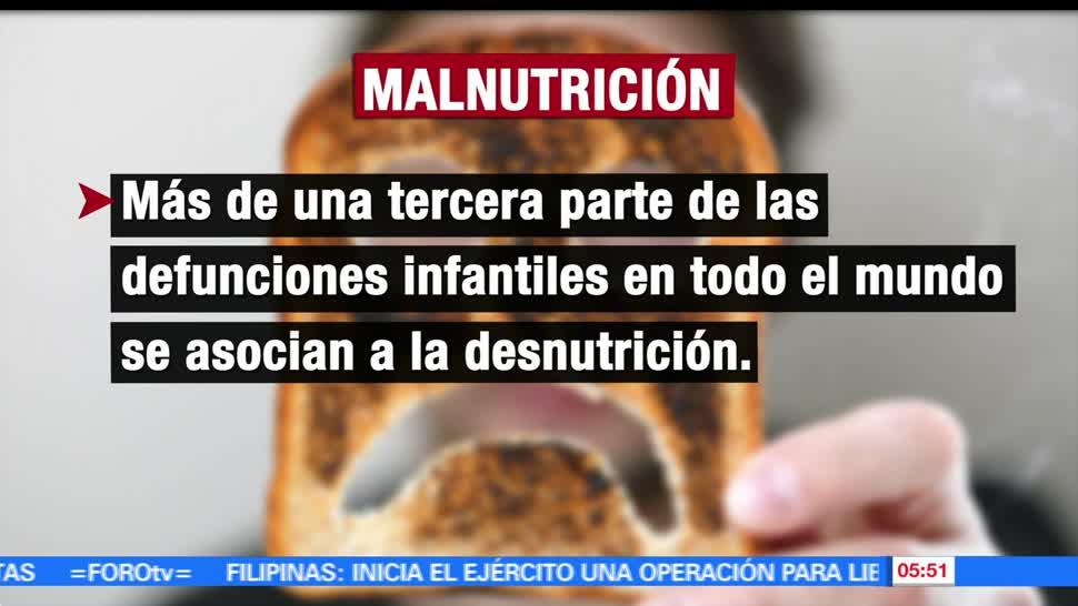 tercera parte, muertes infantiles, asociadas, desnutrición