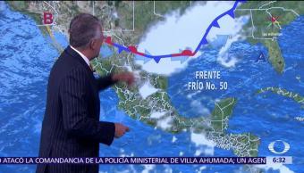 Despierta con Tiempo, Potencial de lluvia, entidades, México