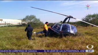 desploma, helicóptero, Chiconquiaco, Veracruz, heridos, Carlos Ruiz Sánchez