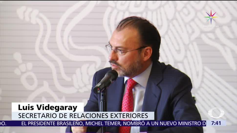 canciller mexicano, Luis Videgaray, Donald Trump, consumo de drogas, Estados Unidos