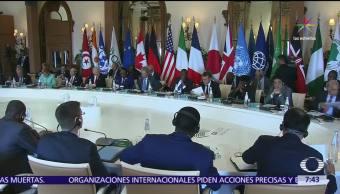 cumbre del G7, sin acuerdo, cambio climático, Estados Unidos