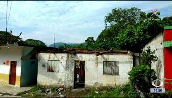 Viviendas, afectadas, lluvias en Chiapas, Pichucalco