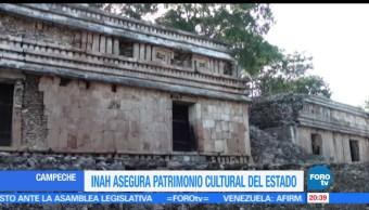 noticias, forotv, INAH, asegura, patrimonio cultural, Campeche