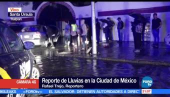 noticias, forotv, Intensas lluvias, Ciudad de México, lluvias, encharcamientos