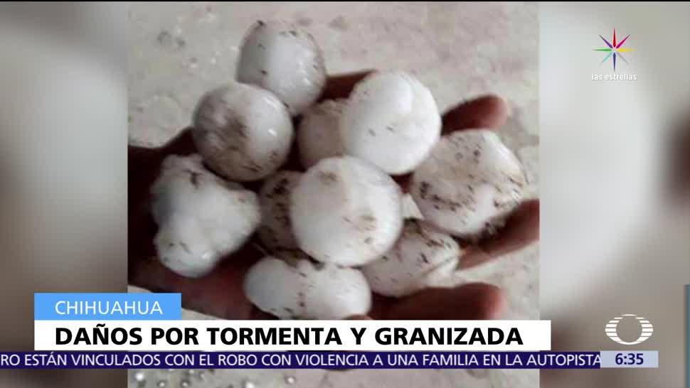 capital de Chihuahua, autos y viviendas, dañadas, tormenta, granizo