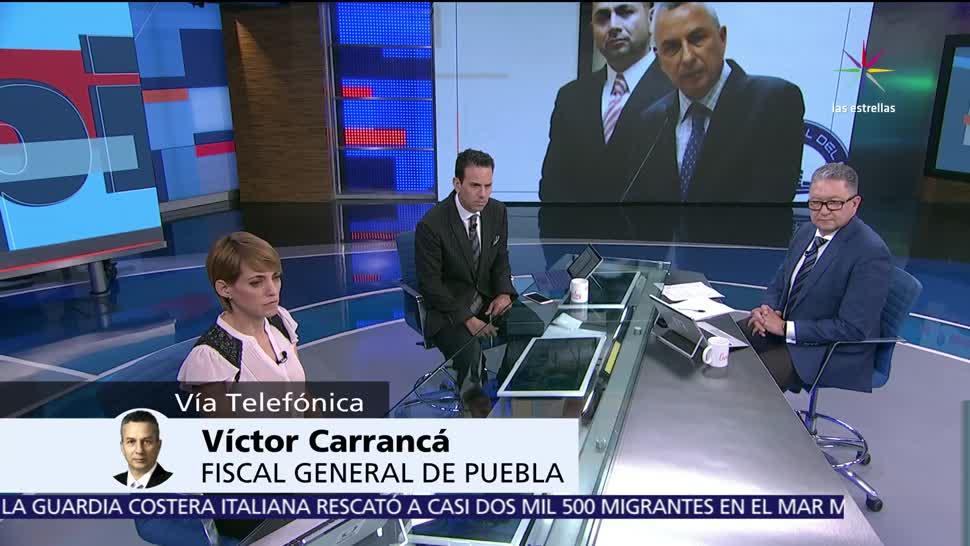 Víctor Carrancá, fiscal de Puebla, Despierta, ataque a familia