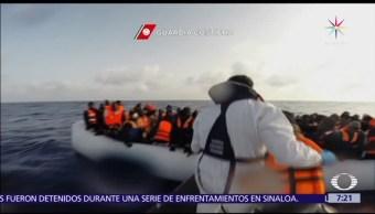 Guardia Costera, Italia, migrantes en el Mediterráneo, Libia, Europa