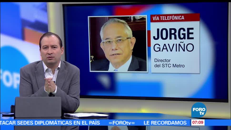 Jorge Gaviño, director del STC Metro, Línea 9, exceso de calor