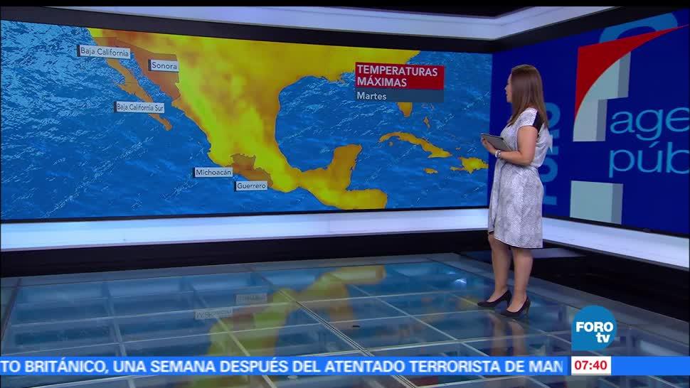 frente frío, lluvias, Chihuahua, Nuevo León, Tamaulipas, Ciudad de México