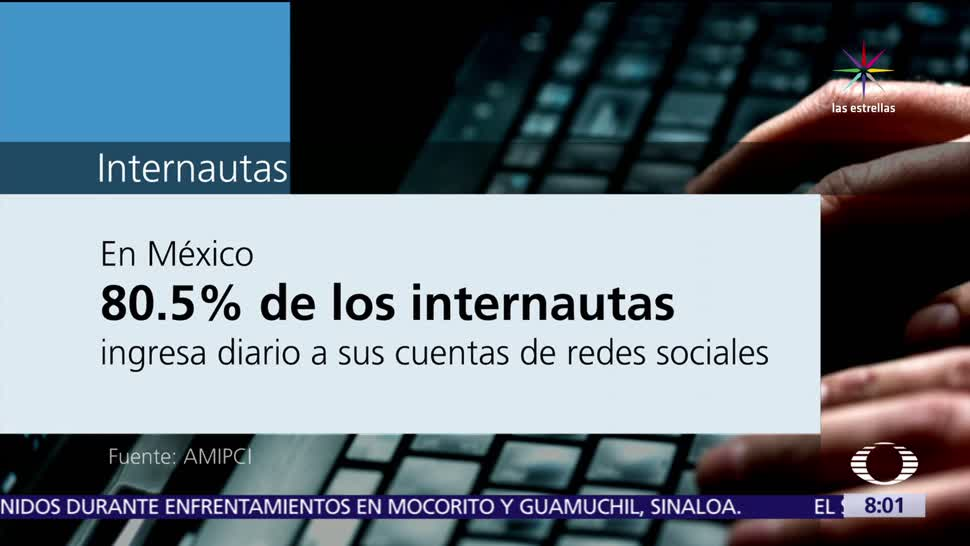 México, internautas, redes sociales, usuarios, información publicada