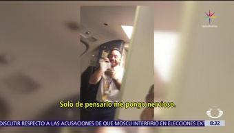 sobrecargo, pasajeros, vuelo Sevilla Las Palmas, venderles perfumes