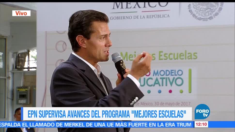 presidente Enrique Peña Nieto, México, proceso de transformación, materia de educación