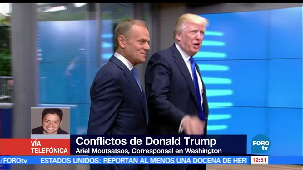 Washington, Ariel Moutsatsos, político, presidente de EU, Donald Trump