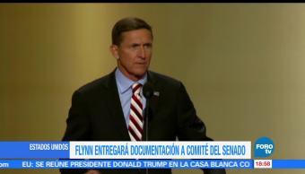Michael Flynn, entregará, documentos, caso Rusia