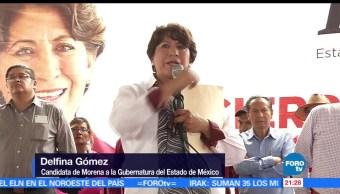 noticias, forotv, Delfina Gómez, visita, Teotihuacán, candidata de Morena