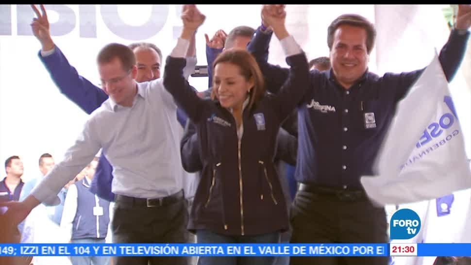 noticias, forotv, Ricardo Anaya, acompaña, Vázquez Mota, Ecatepec