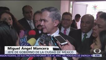 Miguel Ángel Mancera, jefe de Gobierno, CDMX, temporada de lluvias
