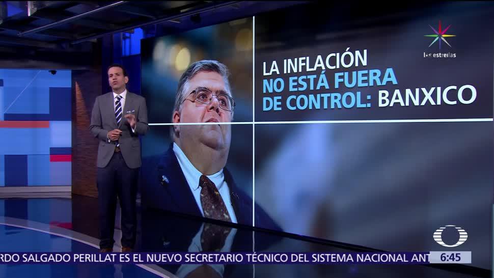 inflación en México, nivel más alto, control, Agustín Carstens
