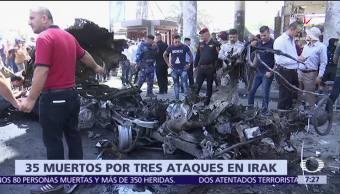 sábado, inicio el Ramadán, atentados en Irak, 35 muertos